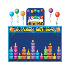 Birthday Bulletin Board Decorations Amazon Com