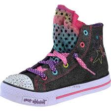 sketchers light up shoes girls. quality skechers girls\u0027 twinkle toes hip chix light-up high-top shoes- sketchers light up shoes girls t
