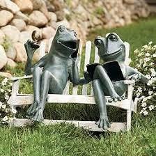 garden frog statue. Weekend Retreat Frogs · Frog StatuesGarden Garden Statue