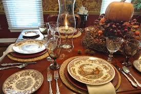 thanksgiving table settingtraditional dining room dc metro