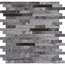 home depot stone wall tile eclipse msi mosaic tile smtil eclipmm