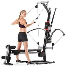 Bowflex Exercise Wall Chart Bowflex Pr1000 Home Gym With 25 Exercises And 200 Lbs Power Rod Resistance Free 2 Day Shipping