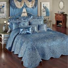 what color bedding goes with light blue walls fresh gray