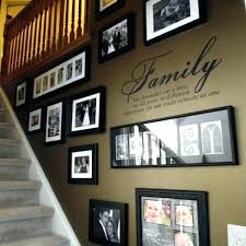 picture frames on staircase wall. Staircase Wall Art Ideas Must Try Stair Decoration 9 Stairway . Picture Frames On A
