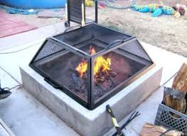 fire pit table cover fire pits by dancing fire premium sunlight fiberglass round gas fire pit