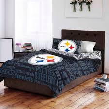 steelers bathroom set nfl multi team bedding room paint sherpa bedroom green bay packers queen size