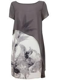 Kyra Print Cape Dress