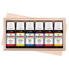 Plant Therapy Essential Oils Kidsafe Starter Set For Focus Calming Sleep Immune Support 100 Pure 6 Undiluted Blends Natural Aromatherapy