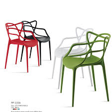 N Magnificent Modern Plastic Dining Chairs With Navy