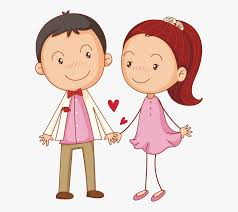Cute Couple Png Cute Png Drawing Illustration Little Transprent Banner