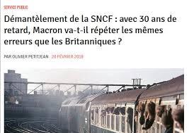 """Résultat de recherche d'images pour """"SNCF libéralisation"""""""