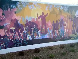 Aaron Douglas Mural, Dedicated May 23, 2005