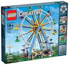 Конструктор <b>LEGO</b> Creator 10247 <b>Колесо</b> обозрения — купить по ...