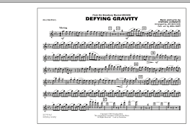 defying gravity sheet music defying gravity from wicked