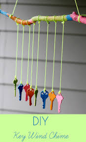 recycled crafts for kids diy key wind chime inner child giving rclsifv5