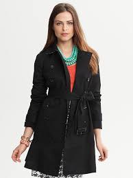 banana republic petite trench