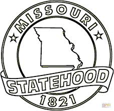 Small Picture Missouri State coloring page Free Printable Coloring Pages