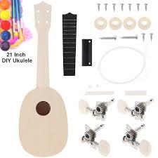 image is loading 21 039 039 ukulele diy basswood al instrument