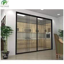 easy installation glass room divider