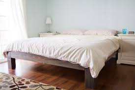 Elegant And Simple King-size Bed Frame