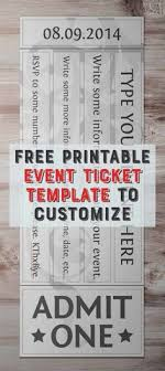event ticket template free 84 best event tickets images event tickets ticket design ticket