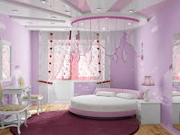 girl s bedroom with cute canopy over this room s circular bed