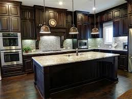 What Color To Paint Kitchen With Dark Cabinets Impressive Design Inspiration