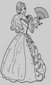 Barbie Dresses Coloring Pages Amazing Drawing Barbie Doll Coloring