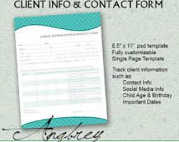 contact spreadsheet template 8 client information sheet templates word excel pdf formats