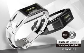 sincere watch rakuten global market tells us the bluetooth bluetooth vibrating stainless steel belt call id 着信を教えてくれるブレスレット腕時計
