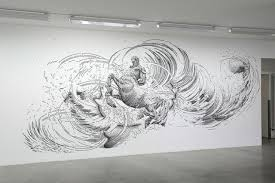 Fluid, 3D Drawings That Seem To Leap Off The Walls