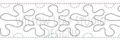 Free Pantographs For Quilting - Quilts Ideas & Bubbles quilting pantograph pattern Lorien Quilting jpg Source · Custom  Longarm Quilting Pattern page Adamdwight.com