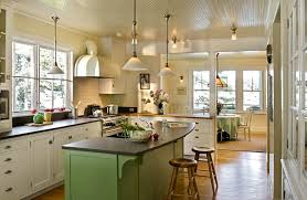 herrlich country kitchen ceiling lights lighting ideas for low ceilings beach style with breakfast bar painted island