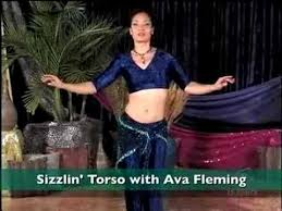 Belly Dancing - Sizzling Torso Ava Fleming - YouTube