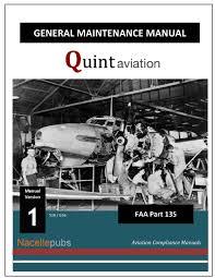 Part 135 General Maintenance Manual