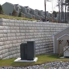 ecology block retaining wall by columbia precast s