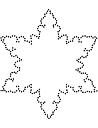 Snow Templates Snowflake Template Clever Hippo