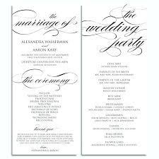 Catholic Wedding Ceremony Program Templates Wedding Ceremony Program Template Doc Itinerary Voipersracing Co