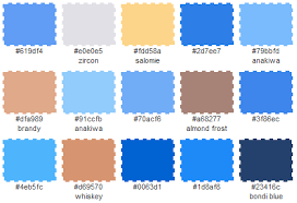 And this palette is for the guys pick any of these to match up against  chosen