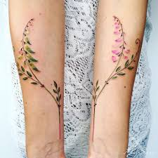 Delicate Botanical Tattoos By Pis Saro Colossal