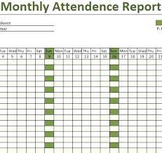 Attendance Checklist Template