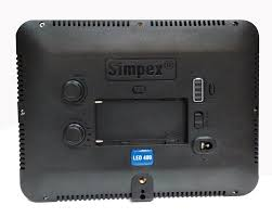 Video Camera Led Light Price In India Buy Simpex 400 Professional Video Led 400 Dual Light White