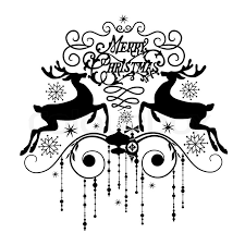 merry christmas card black and white. Exellent White Black And White Christmas Card Stock Vector  Colourbox Throughout Merry N