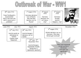 best world war images teaching this is a brief timeline of some of the significant causes of wwi in 1914