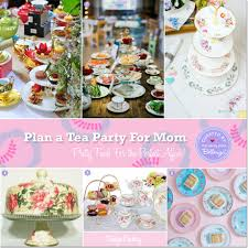 Tea Party Serveware for a Fab Food Display