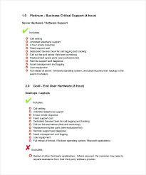 Service Level Agreement Template Mesmerizing Facilities Management Service Level Agreement Choice Image