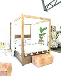 How To Make A Four Post Bed How To Make A Four Poster Bed Canopy ...