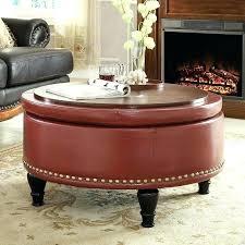 cloth ottoman coffee table fabric ottomans tables