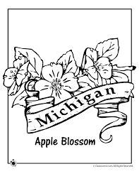 Small Picture Coloring Pages Michigan Coloring Coloring Pages