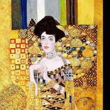 Gustav Klimt - Adele Bloch Bauer I f98614 60x120cm exzellentes Ölbild  handgemalt Museumsqualität | KunstDepot24 Ölgemälde und Bilderrahmen Berlin